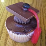 Sorry, this post isn't about cupcakes. But it is about graduation!