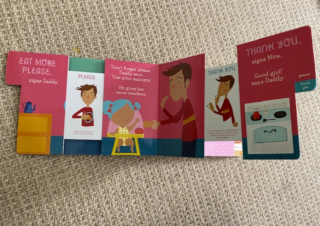 Book for toddlers about sign language
