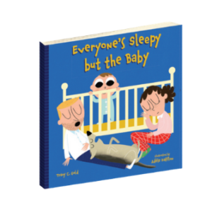Everyone's Sleepy but the Baby, baby shower gift book